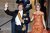 Koning en Koningin ontvangen het Corps Diplomatique