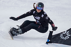 Cheyenne Loch (GER) during Final Run at Parallel Giant Slalom at FIS Snowboard World Cup Rogla 2019, on January 19, 2019 at Course Jasa, Rogla, Slovenia. Photo byJurij Vodusek / Sportida