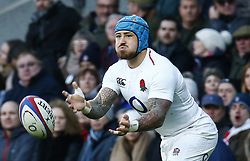 February 10, 2019 - London, England, United Kingdom - Jack Nowell of England.during the Guiness 6 Nations Rugby match between England and France at Twickenham  Stadium on February 10th, 2019 in Twickenham, London,  England. (Credit Image: © Action Foto Sport/NurPhoto via ZUMA Press)