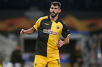 ATHENS, GREECE - OCTOBER 29: Nélson Oliveiraof AEK Athens during the UEFA Europa League Group G stage match between AEK Athens and Leicester City at Athens Olympic Stadium on October 29, 2020 in Athens, Greece.(Photo by MB Media)