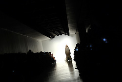 Models on the catwalk at the Bora Aksu Autumn/Winter 2017 London Fashion Week show at the BFC Show Space, 180 Strand, London