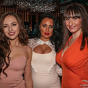 Sophia Blake,Amber Bowles,Danielle McMahon  attend the Supermodel UK glamour Model of the Year 2016 at DSTRKT on 23rd November 2016 in London,UK. Photo by See Li