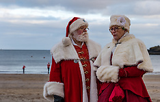 Santa Run, North Berwick, 20 December 2020