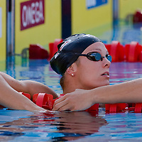Amanda Weir (USA) competes in the 100 m Women's Freestyle Swimming competition during the 13th FINA Swimming World Championships held in Rome, Italy. Thursday, 30. July 2009. ATTILA VOLGYI