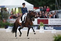 Minderhoud Hans Peter, (NED), Glocks Johnson<br /> Interchem prijs Grand Prix Freestyle CDI5*<br /> CHIO Rotterdam 2015<br /> © Hippo Foto - Dirk Caremans<br /> 20/06/15