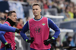 February 10, 2019 - Madrid, Madrid, Spain - Real Betis Balompie's Sergio Canales during La Liga match between CD Leganes and Real Betis Balompie at Butarque Stadium in Madrid, Spain. February 10, 2019. (Credit Image: © A. Ware/NurPhoto via ZUMA Press)