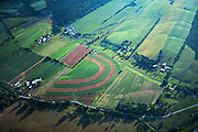 PA landscapes, Aerial Photograph, York Co., Farms, Pennsylvania