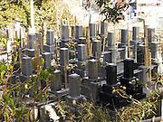 graveyard stone Japan