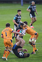 Rugby Union - 2020 / 2021  European Rugby Challenge Cup - Semi-final - Bath vs Montpellier - Recreation Ground<br /> <br /> Bath Rugby's Anthony Watson claims a high ball.<br /> <br /> COLORSPORT/ASHLEY WESTERN