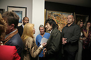 Eva Harald and Ronnie Wood, Ronnie Wood, private view. Scream, 34 Bruton Street, London, W1, 23 August 2006. ONE TIME USE ONLY - DO NOT ARCHIVE  © Copyright Photograph by Dafydd Jones 66 Stockwell Park Rd. London SW9 0DA Tel 020 7733 0108 www.dafjones.com