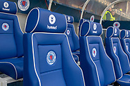The Dugout at Ibrox ahead of the Ladbrokes Scottish Premiership match between Rangers and Celtic at Ibrox, Glasgow, Scotland on 12 May 2019.