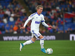 August 22, 2017 - London, England, United Kingdom - Ipswich Town's Monty Patterson.during Carabao Cup 2nd Round   match between Crystal Palace and Ipswich Town at Selhurst Park Stadium, London,  England on 22 August 2017. (Credit Image: © Kieran Galvin/NurPhoto via ZUMA Press)