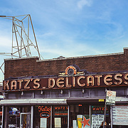 Katz's Deli on East Houston Street on the lower East side. of Manhattan may be the best known Jewish Deli in New York. The famous scene from the movie when Harry Met Sally where Sally (Meg Ryan) simulates having an orgasm in the restaurant/