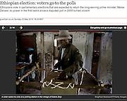 Ethiopia, elections - The UK Guardian.
