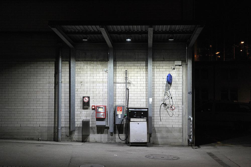 27.02.2016; St.Gallen; Tankstelle an der Steinachstrasse<br /> (Steffen Schmidt)