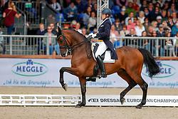 Ruoste Henri, FIN, Kontestro DB<br /> European Championship Dressage - Hagen 2021<br /> © Hippo Foto - Dirk Caremans<br /> 11/09/2021