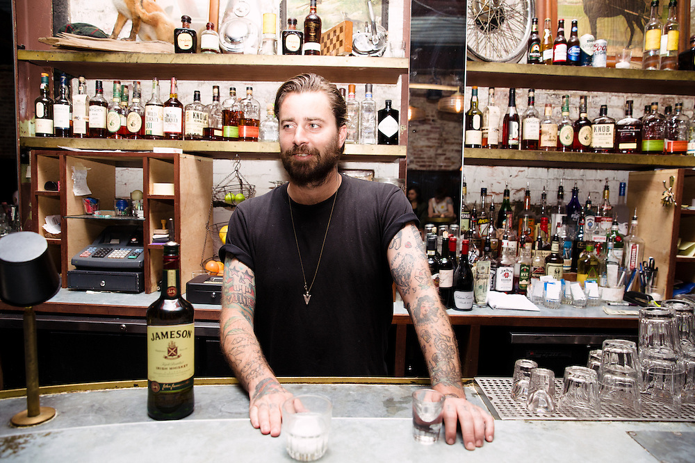 Brooklyn bartenders and bars shot for Jameson Whiskey and the Northside Festival, 2016