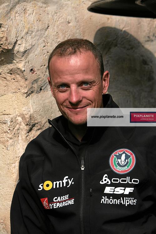Julien Robert - Biathlon - présentation de l'équipe de France de ski 2007-2008 - Photos exclusives - 9/10/2007 - JSB / PixPlanete