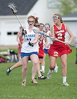 Varsity Lacrosse Gilford versus Laconia girls May 19, 2011.