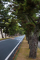 Old Tokaido Road at Hamamatsu - There were originally 53 posts along the Old Tokaido Road or Eastern Coastal Road.  Tokaido is now both the main central train line as well as the original Shinkansen Bullet Train from Tokyo to Kyoto.  But of the original trail only about 9 km still exists, most of it in Hakone.