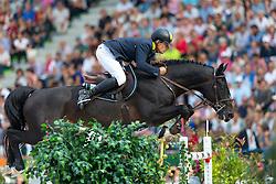 Ferenc Szentirmai, (UKR), Chadino - World Champions, - Second Round Team Competition - Alltech FEI World Equestrian Games™ 2014 - Normandy, France.<br /> © Hippo Foto Team - Leanjo De Koster<br /> 25/06/14
