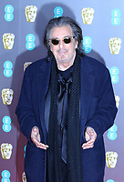 Al Pacino, EE British Academy Film Awards, Royal Albert Hall, London, UK, 02 February 2020, Photo by Richard Goldschmidt