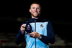Alfie Kilgour of Bristol Rovers with his Goal of the Season Award - Mandatory by-line: Ryan Hiscott/JMP - 28/08/2020 - FOOTBALL - Memorial Stadium - Bristol, England - Bristol Rovers v Cardiff City - Pre Season Friendly