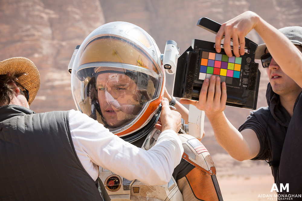 The Martian Behind The Scenes