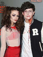 Emily Middlemas & Ryan Lawrie, Kiss FM Haunted House Party 2016 - VIP Arrivals, The SSE Arena Wembley, London UK, 27 October 2016, Photo by Brett Cove