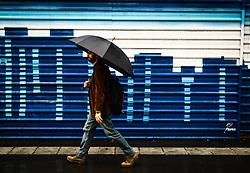 August 3, 2017 - Após 51 dias de tempo seco, começa a chover em São Paulo no fim da manhã desta quinta-feira (03). Foto feita na região da avenida Paulista. (Credit Image: © Aloisio Mauricio/Fotoarena via ZUMA Press)