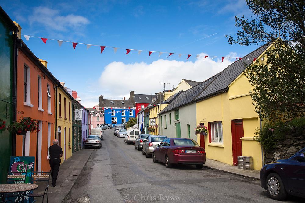 Town of Eyeries, Beara Peninsula, Ireland