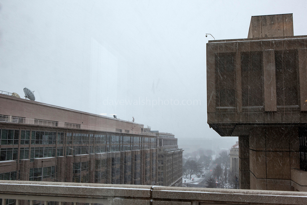 J. Edgar Hoover Building, Federal Bureau of Investigation headquarters in at 935 Pennsylvania, Washington DC.