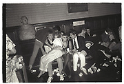 Late  night party at the Oxford Union. 30 April 1983 until May morning.