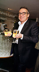 MR STEPHEN BAYLEY the former head of design at The Dome, at a party in London on 20th October 1999.MXZ 6