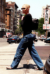 JUNE 11, 1997 - New York - Carolyn Bessette Kennedy On Her Way To The Doctor's Office (Credit Image: © Henry Mcgee/ZUMAPRESS.com)