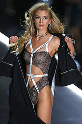 November 8, 2018 - New York, New York, U.S. - Stella Maxwell walks in the 2018 Victoria's Secret runway show at Pier 94 on November 8 2018 in New York City  (Credit Image: © Philip Vaughan/Ace Pictures via ZUMA Press)