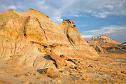 Oregon Butte in the Red Desert of Wyoming