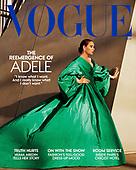 October 07, 2021 - WORLDWIDE: Adele Covers Vogue Magazine November 2021 Issue