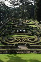 Vatican's garden, Rome, Italy