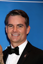 Jeff Gordon attending the 2016 NASCAR Sprint Cup Series Awards
