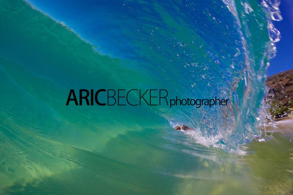 Shore Break at Big Beach on Maui.