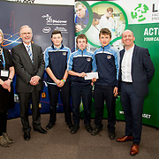 27.04.2016.          <br />  Kalin Foy and Ciara Coyle win SciFest@LIT<br /> Kalin Foy and Ciara Coyle from Colaiste Chiarain Croom to represent Limerick at Ireland's largest science competition.<br /> <br /> Scoil Pol, Kilfinnan students, Lorcan Ahern, Dónal Healy and Bradley Ahern project Aerodynamics of Paper Aeroplanes won Physical Sciences, Junior third. Lorcan Ahern, Dónal Healy and Bradley Ahern are pictured with George Porter, SciFest and Brian Ahern, Intel<br /> <br /> Of the over 110 projects exhibited at SciFest@LIT 2016, the top prize on the day went to Kalin Foy and Ciara Coyle from Colaiste Chiarain Croom for their project, 'To design and manufacture wireless trailer lights'. The runner-up prize went to a team from John the Baptist Community School, Hospital with their project on 'Educating the Youth of Ireland about Farm Safety'. Picture: Fusionshooters