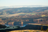 McCall Point hike along the Rowena Crest along Highway 30 in the Columbia Gorge, OR