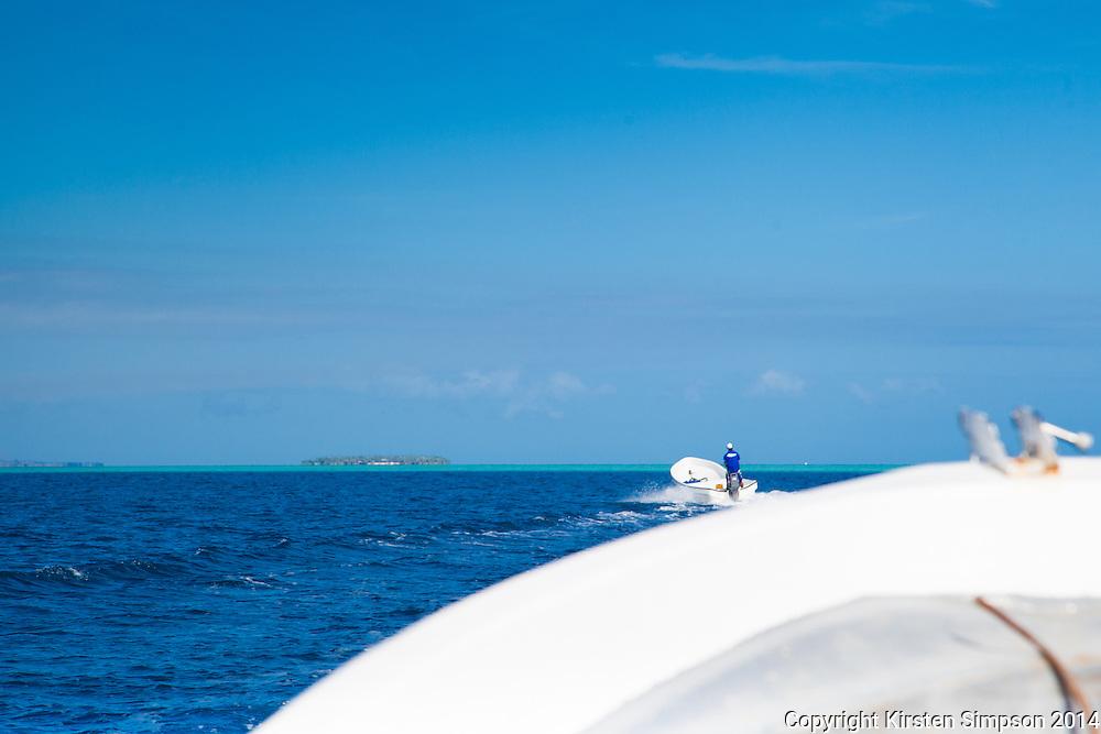 Heading to Tavarua Island