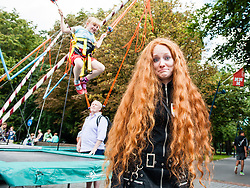"September 2, 2017 - Breda, Netherlands - September 2nd, Breda. Every year thousands of natural redheads gather in the small Dutch town of Breda to celebrate International Redhead Day. The event, known as ""Roodharigendag"" in Dutch, occurs every September. It currently holds the world record for the largest number of natural redheads in one place. Nearly 2,000. And it attracts redheads from over eighty countries, with representatives spanning from the US and Canada throughout Europe and as far reaching as Syria and South Africa. (Credit Image: © Romy Arroyo Fernandez/NurPhoto via ZUMA Press)"