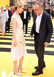 Lily James (left) and Danny Boyle attending the Yesterday UK Premiere held in London, UK.