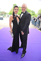 PAUL & TRUDI BESWICK she is CEO of Caudwell Children at The Butterfly Ball in aid of the Caudwell Children Charity held in Battersea park, London on 14th May 2009.