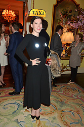 LILY LEWIS at the Tatler Best of British party in association with Jaegar held at The Ritz, Piccadilly, London on 28th April 2015.