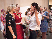 EMILY MAITLIS;  ; FEDERIKA RAYMER; FIONA BANNER  , Tate Summer Party. Celebrating the opening of the  Fiona Banner. Harrier and Jaguar. Tate Britain. Annual Duveens Commission 29 June 2010. -DO NOT ARCHIVE-© Copyright Photograph by Dafydd Jones. 248 Clapham Rd. London SW9 0PZ. Tel 0207 820 0771. www.dafjones.com.
