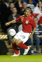 Photo: Leigh Quinnell.<br />England 'B' v Belarus. International Friendly. 25/05/2006.<br />England's Theo Walcott attacks.